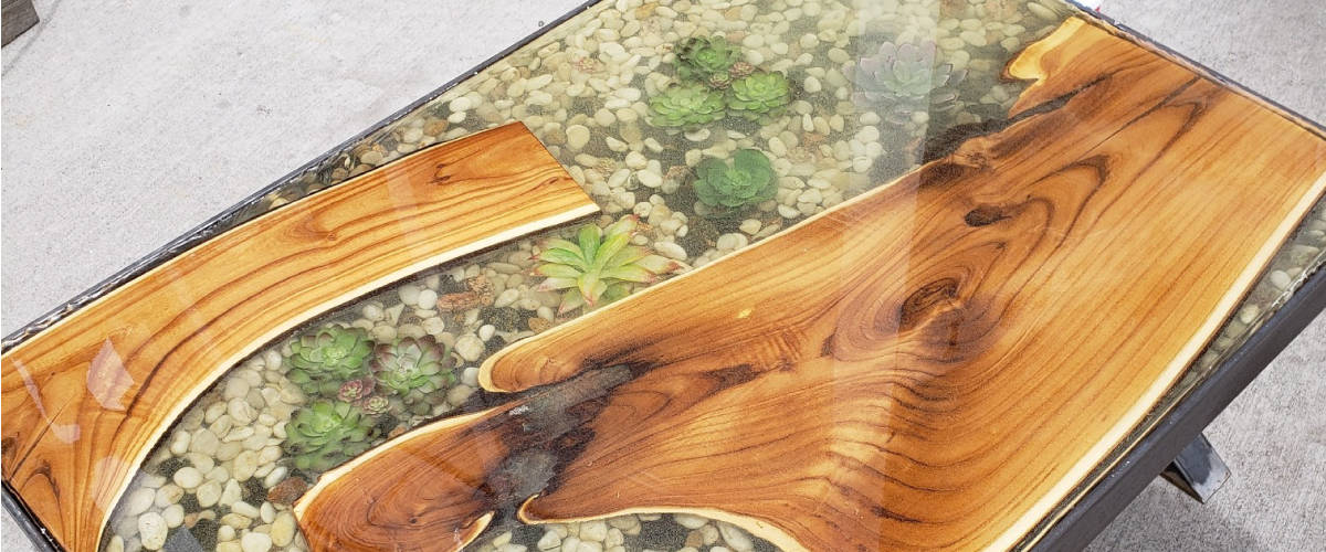 Resin River Tables, Kitchen Tables & Coffee Tables! - I Made